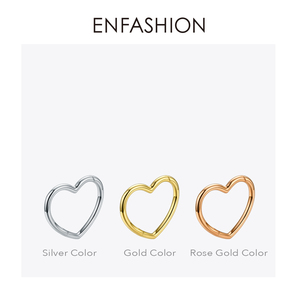 Image 5 - ENFASHION Heart Cuff Bangles For Women Accessories Gold Color Brass Bracelets Fashion Jewelry Friends Gifts 2020 Pulseira BC2006