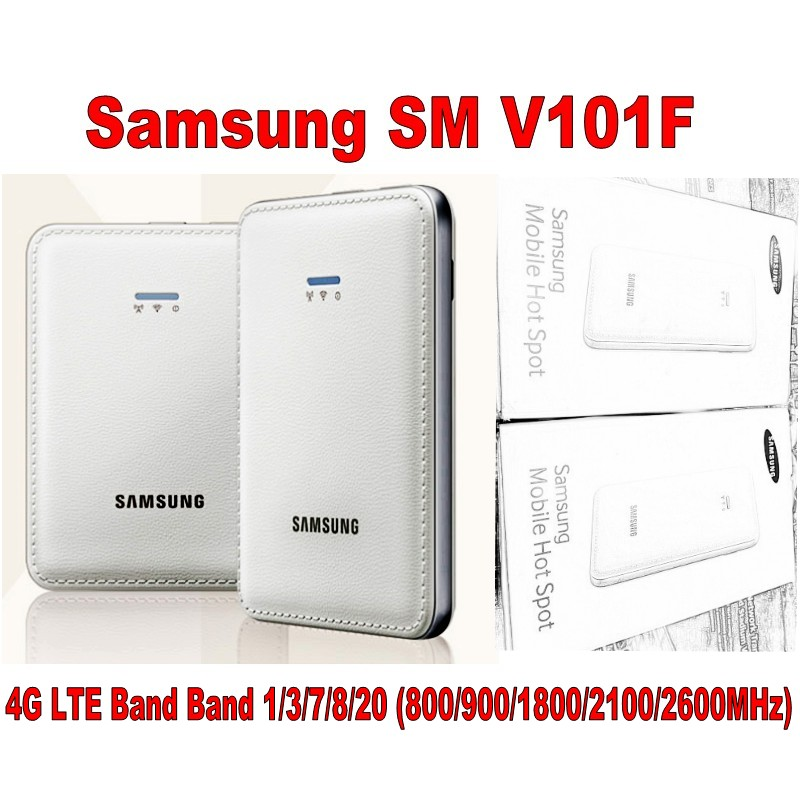 Lot of 10pcs Samsung SM-V101F 4G LTE Cat4 Mobile WiFi router,DHL shipping цена