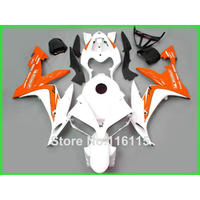 fairing kit for YAMAHA R1 2004 2005 2006 YZF R1 04 05 06 white orange black motorcycle fairings set TH8 Full injection