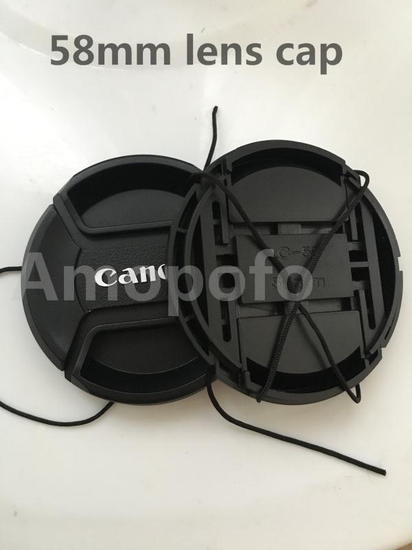 Venta caliente Nuevo para la tapa de la lente de 58 mm de Canon, la - Cámara y foto - foto 1