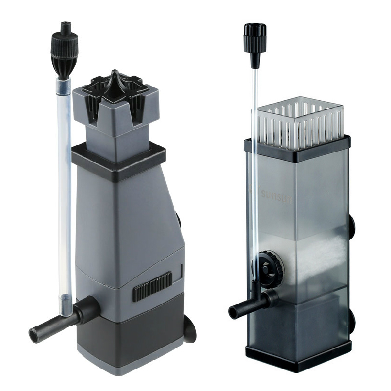 Sunsun Aquarium Surface Protein Skimmer 3W 5W 220V Oil Film Processor Remover Fish Tank Filter JY02 JY03 3