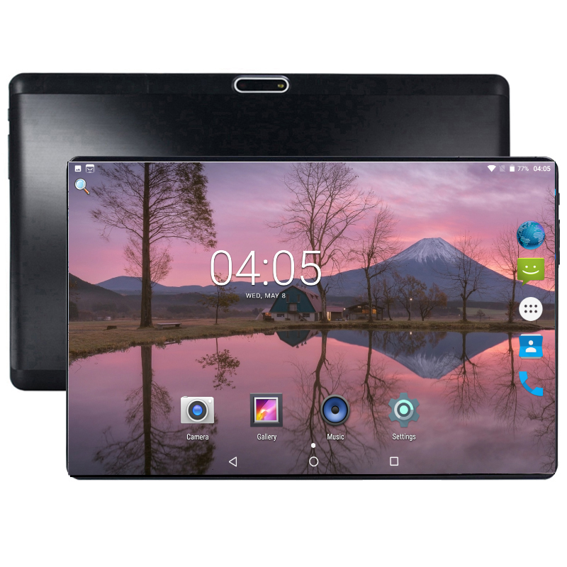 SHELI 2019 Tablet 10 Inch Android 8.0 Tablets Pc 64GB IPS Tablet Laptop Bluetooth WiFi Tab Octa Core Dual SIM Card Tablet 10.1