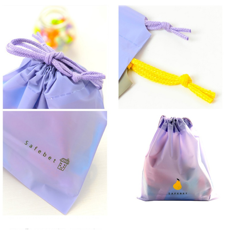Storage Bags Portable Waterproof Tote Drawstring Storage Bag Laundry Shoe Exquisite Travel Pouch Home Outdoor Supplies