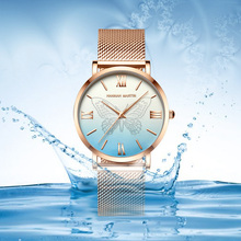 Butterfly Stardust Fashion Luxury Rose Gold Ladies Dress Women Watches Clock Quartz Stainless Steel Waterproof Watch Relogio