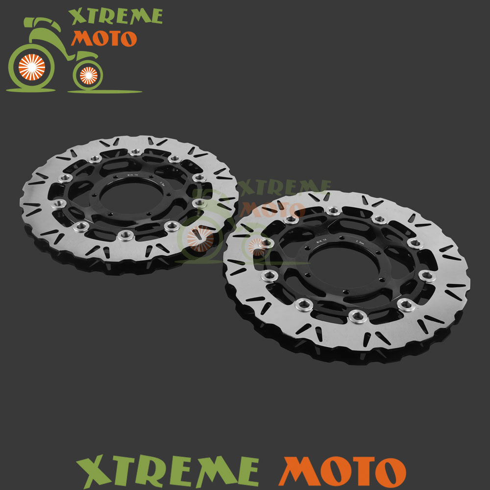 Motorcycle Front Floating Brake Disc Rotor For Honda CBR1000RR 06 07 VTR 1000 SP1 2000 2001 SP2 2002 2003 2004 2005 2006 2007 стоимость