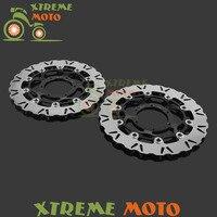 Motorcycle Front Floating Brake Disc Rotor For Honda CBR1000RR 06 07 VTR 1000 SP1 2000 2001 SP2 2002 2003 2004 2005 2006 2007