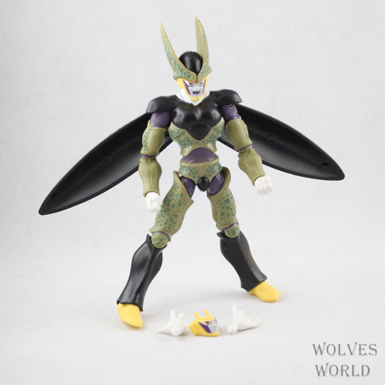 Anime Dragon Ball Z Joint Movable Vegeta Piccolo Son Gohan Son Goku Trunks PVC Action Figure Cartoon Toys Collectibles 6pcs/set 1