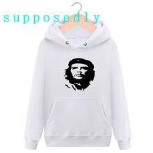 NOVA Moda Inverno de Che Guevara impresso Moletom Com Capuz De Alta  Qualidade das mulheres Dos Homens Hippie Hippie camisola . 0adfedac5d4