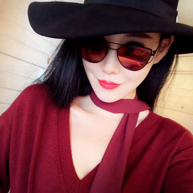 a8dec9253f08 Women Fashion Retro Vintage Clout Goggles Unisex Sunglasses Rapper Oval  Shades Grunge Glasses p  dropship