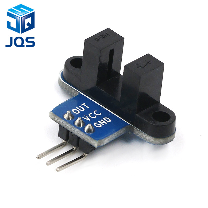 IR Infrared Slotted Optical Speed Measuring Sensor Detection Optocoupler Module For Motor Test