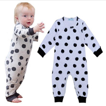 baby rompers Long Sleeve pajama sleeper  Infants&Toddlers 100%Cotton for Kids 9M 12M 18M 24M clothes