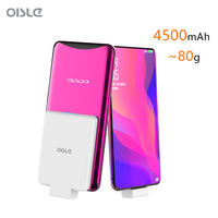 4500mAh Slim Power Bank For Oppo Find X Battery Charger Case For Samsung Galaxy A9s A6s External Backup Battery Portable Charger