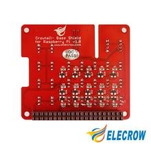 Elecrow Base Shield for Raspberry Pi 3 UART/I2C/Analog/Digital interface On-board ADC Chip MCP3008 DIY Kit
