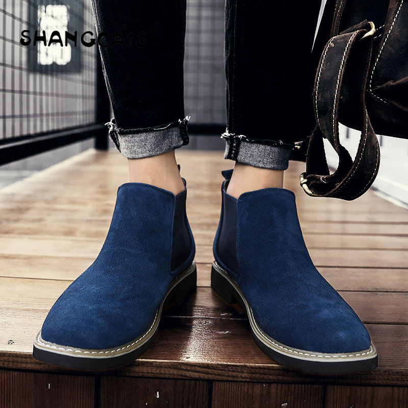Petite Hiver Mode brown Chaussures Casual Sneakers gray 38 2018 Top blue High Respirant 45 SlipSur Black Vulcanisé Taille Hommes Y6Imbgyvf7
