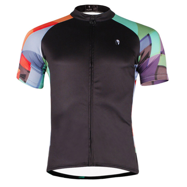 8f0f88e3f Spring Summer Men Breathable Short Sleeve Cycling Jersey Black Cycling  Apparel