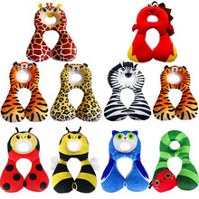 ZH 1PC Baby Child Safety Neck Pillow Safety Travel Pillow U Type Memory Pillow Safety Seat Pillow(China)