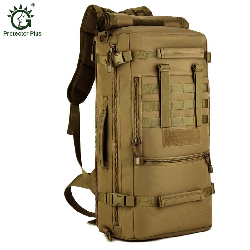 Protector Plus Large Capacity 50L font b Tactics b font Laptop font b Backpack b font