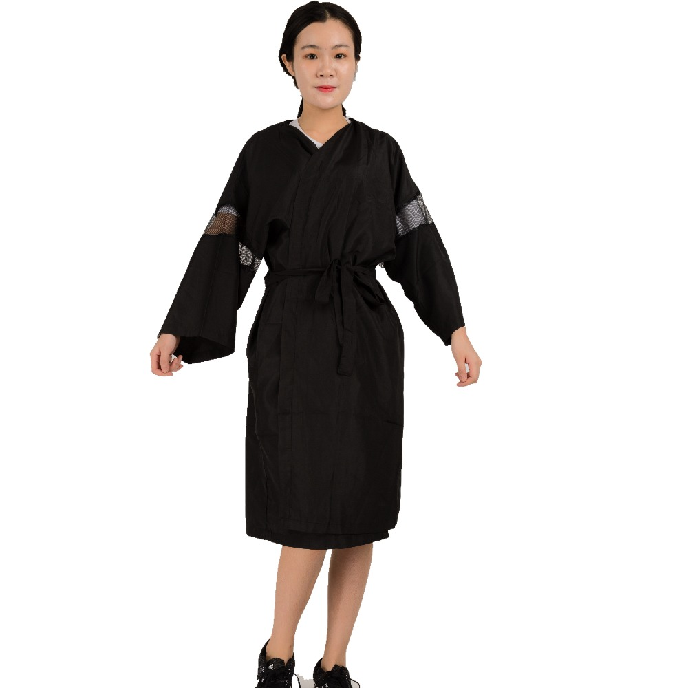 High quality hair uniform cloth for working beauty salon for Spa uniform policy