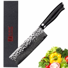 Sunlong chef knife Japan Damascus steel Slicing knives 6.5 inch Cleaver kitchen  pattern meat/vegetable