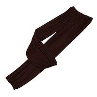 yoga pants Loose Modal bloomers pants home tai chi harem joggers sweat Pants both men and women-Brown,XXL
