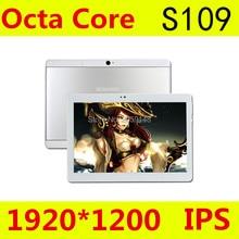 Tablet Android 6.0 S109 10.1 Inch 4G tablet pc octa core Dual SIM 4GB RAM 64GB ROM Dual SIM GPS IPS FM tablet pcs