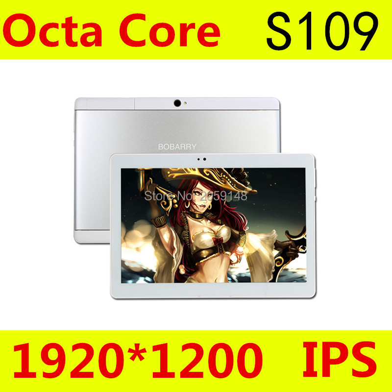 Tablet Android 6.0 S109 10.1 Pouce 4G tablet pc octa core Double SIM 4 GB RAM 64 GB ROM Dual SIM GPS IPS FM tablet pcs