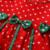Bebê Vestidos do Natal Da Menina 2017 Novo Ponto Onda Roupas Definido Para bebê recém-nascido crianças camisa longa da luva t + dorduroy bow dress ff175
