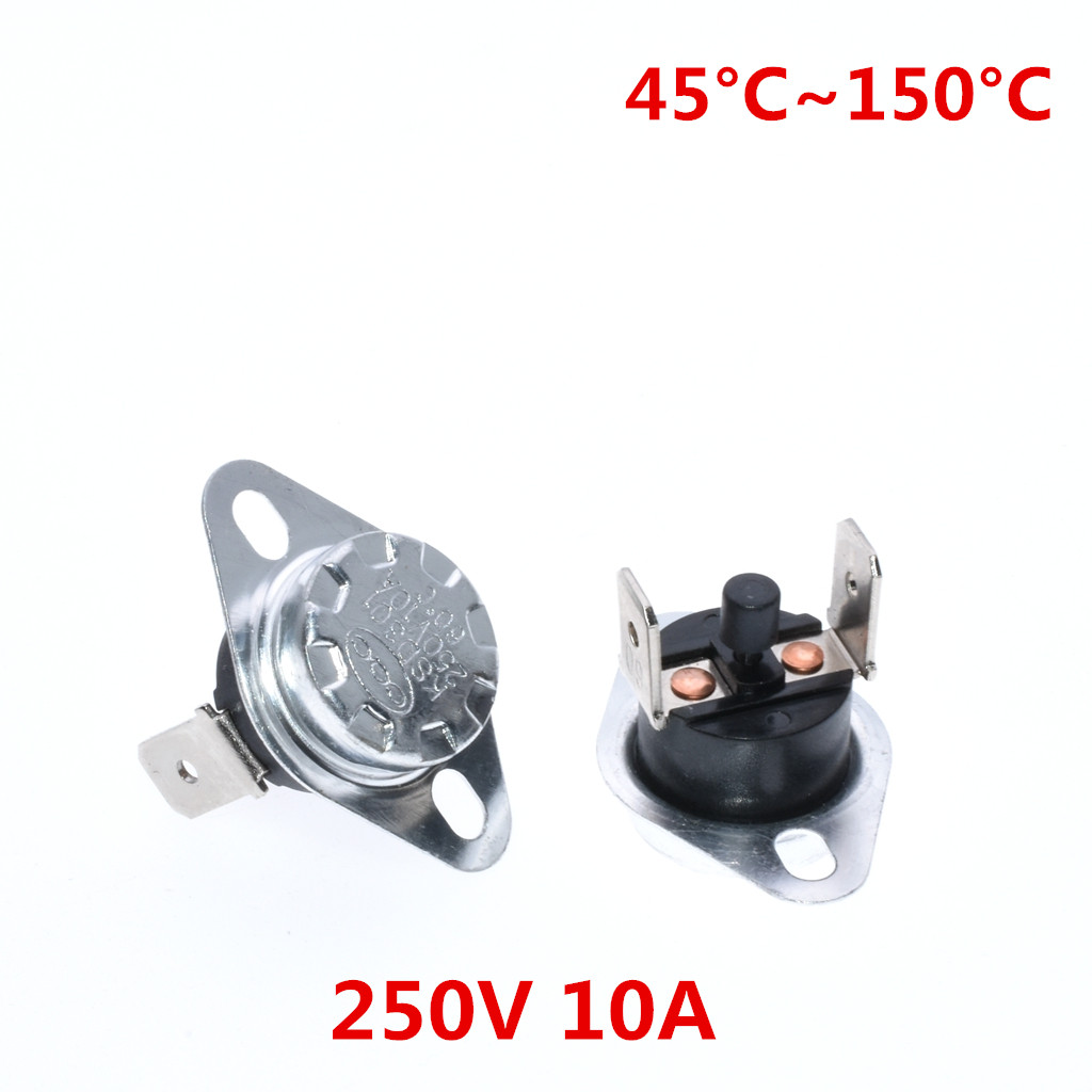 KSD301 250V 10A 30°C TEMPERATURE SWITCH THERMOSTAT NORMALLY CLOSE DR45