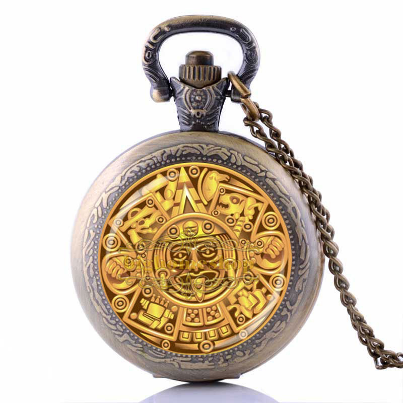 Egyptian Ankh Pocket Watch Eternal Life Symbol Jewelry Locket