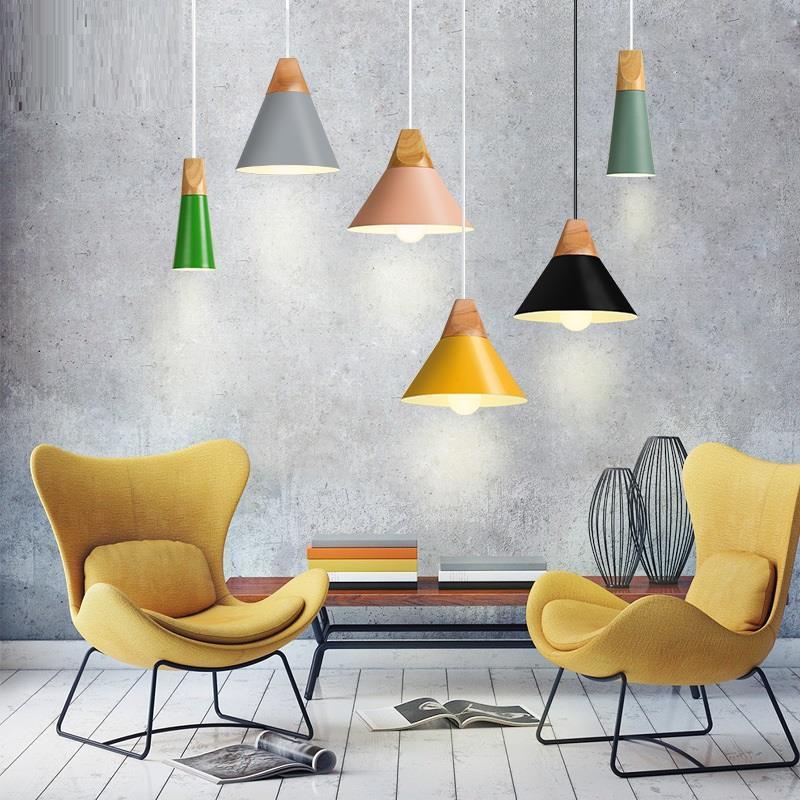 Hanglamp Industrieel Lustre E Pendente Para Sala De Jantar Lampen Modern Deco Maison Loft Suspension Luminaire Pendant Light in Pendant Lights from Lights Lighting