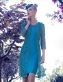 Na altura do joelho renda mãe da noiva Vestido com jaqueta curta De cetim 3/4 mangas Vestido mãe para o casamento Vestido De Madrinha M59