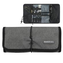 Seyahat saklama çantası Kit Data kablosu U Disk güç bankası elektronik aksesuarları dijital Gadget cihazları bölücü organizatör konteynerler