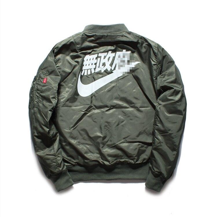 Aliexpress.com : Buy 2017 winter jackets Ma1 Bomber Jacket Pilot ...