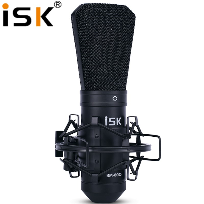 ISK BM 800S BM800S Condenser Microphone Professional Recording studio microphone Computer live Broadcast