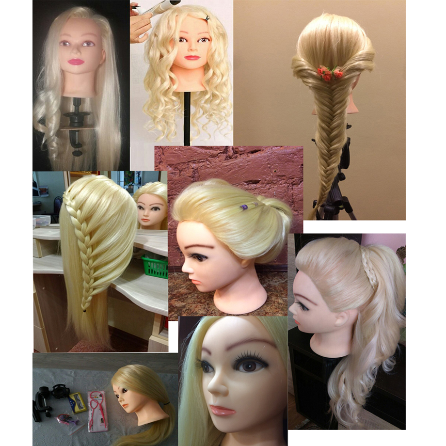 40% Реальні людські волосся 60 см - Догляд за волоссям та стайлінг - фото 3