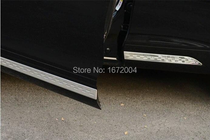 Нержавеющая сталь Боковая дверь кузова литья Накладка для Honda Crosstour 2012