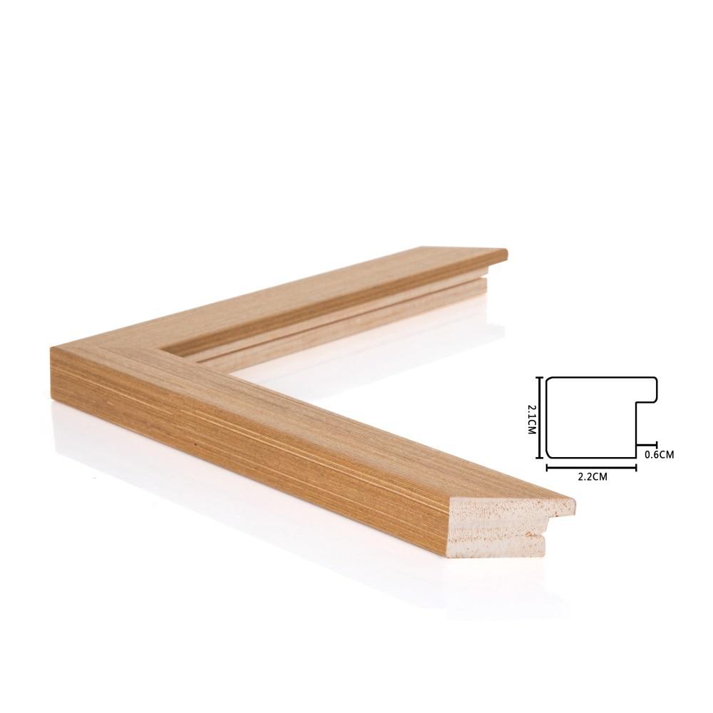 DIY Outer Wood Frame Custom Size Photo Frames Diamond Paintings For ...