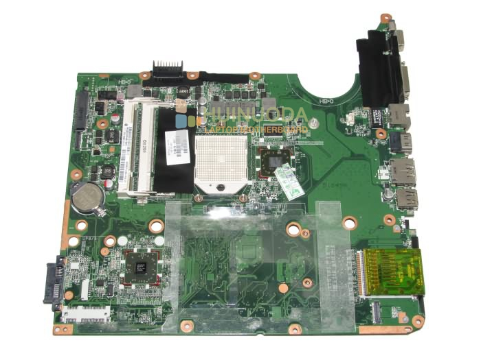 NOKOTION 574679-001 Main Board For HP Pavilion DV7 DV7-3000 Laptop Motherboard DA0UT1MB6E0 Socket S1 DDR2 Free CPU 446402 001 notebook pc main board for hp 6910 6910p laptop motherboard pm965 ddr2 with free cpu