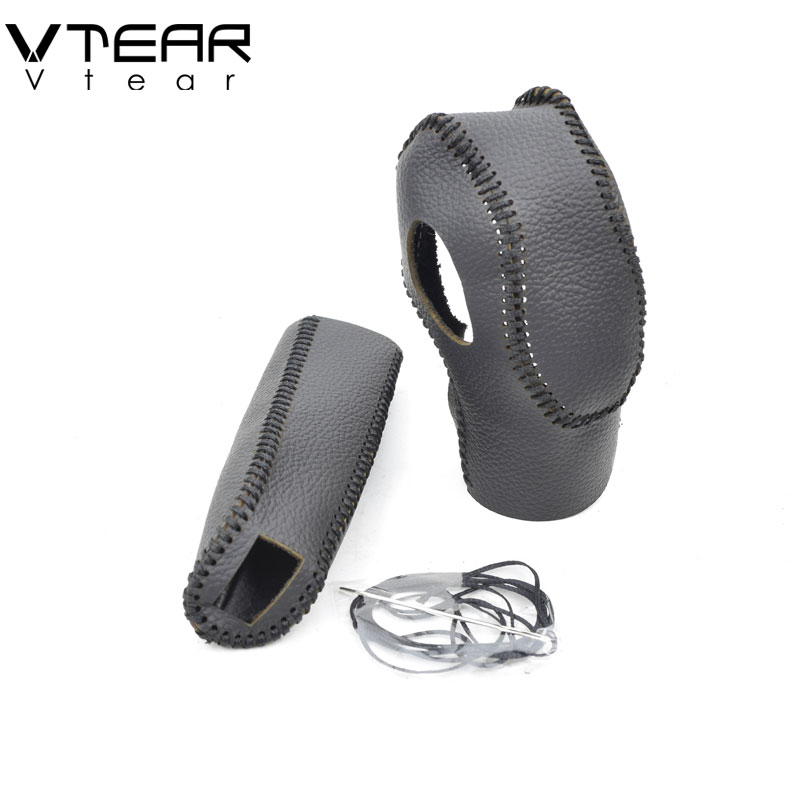 Vtear Lever-Cover Hand-Stitched-Accessories Gear Focus 2-Mk2-Gear-Shift-Collars Ford