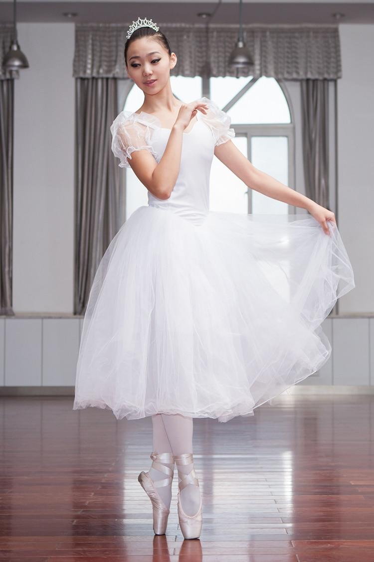 New Professional Ballet Swan Lake Tutu Veil Costume Adult Ballet Skirt Puff White Classic Ballet Skirt Dress Ballet Costume