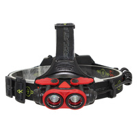 AIMIHUO XML T6 LED headlamp focusing rechargeable lamp outdoor use fishing hunting 4 modes 10W For 18650/usb t6 LED headlight