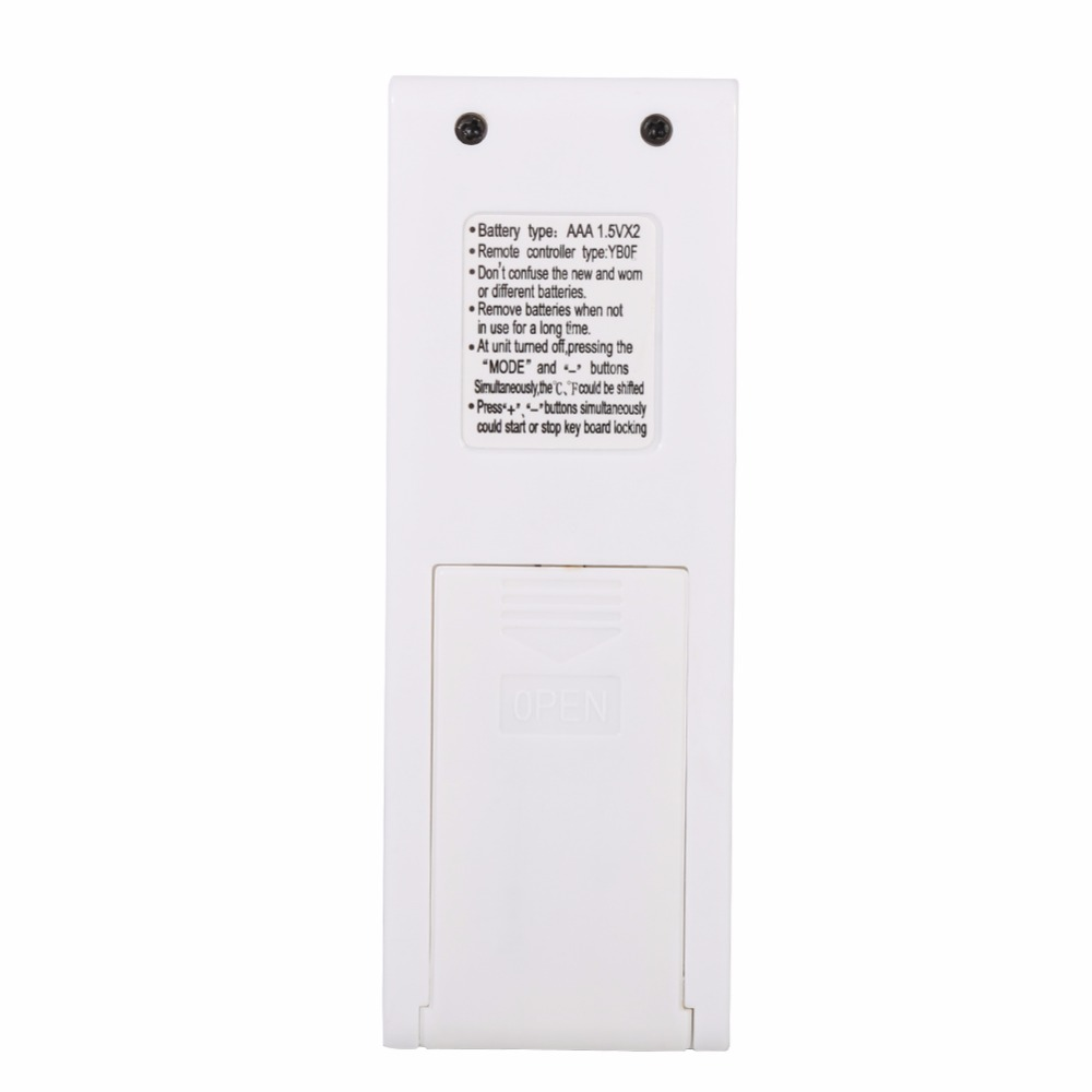 Image 4 - Remote Control For Gree YBOF New Stylish Air Conditioner Remote Controller Replacement Controller For Gree Air Conditioning-in Remote Controls from Consumer Electronics