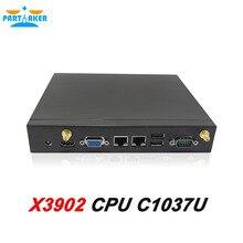 Partaker X3902 Двойной Nic Mini PC С Celeron 1037U Dual Core 3 Г Sim Слот Для Карты Поддерживается