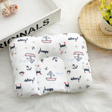 Baby Shaping Pillow Infant Newborn Anti-rollover Mattress Pillow For 0-12 Months Baby Sleep Positioning Pad Cotton Pillow(China)