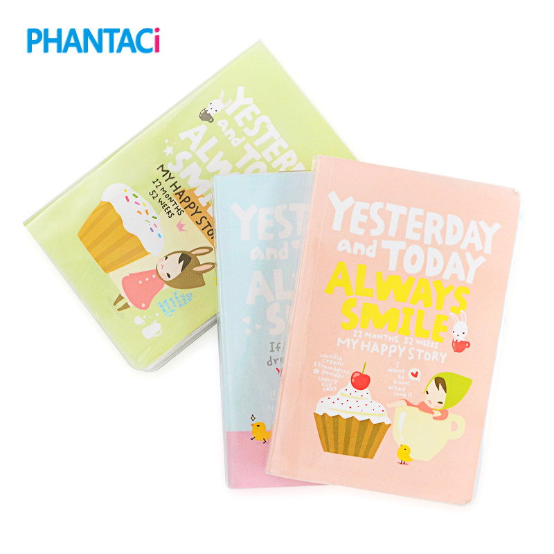 Office & School Supplies Realistic Little Red Hat Agenda Cute Notebook Diary Day Week Planner Journal Record Stationery Office School Supplies F451 Notebooks