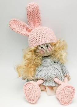 crochet toys  amigurumi  girls doll number  WS0069