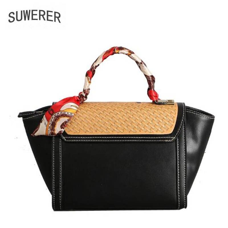 Handgemachte Suwerer Mode Echtem 2019 Berühmte Blume green Aus Für Neue Geschnitzte Frauen Leder Designer Black Tasche Luxus Handtaschen Marken vYqp8rv1