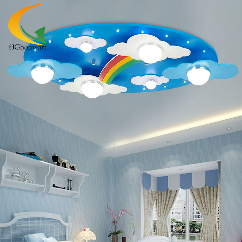 Blue sky and white cloud with boy and girl children s bedroom ceiling room  lighting creative cartoon. Popular Blue Sky Ac Buy Cheap Blue Sky Ac lots from China Blue Sky
