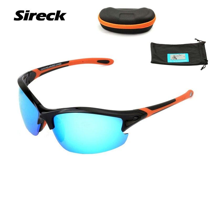 Sireck UV400 Polarized Sport Sunglasses Women Men Outdoor Fishing Glasses Ultralight TR90 Bike Cycling Driving Hiking Eyewear