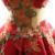 Dressv vermelho escuro colher bola vestido bordado quinceanera vestido sem mangas até o chão lace up vestido quinceanera doce 16 vestido